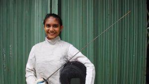 Atlet Anggar Putri Indonesia Berusaha Memperjuangkan Medali Pada Asian Games 2018