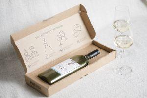 Botol Wine pertama di dunia berbentuk datar