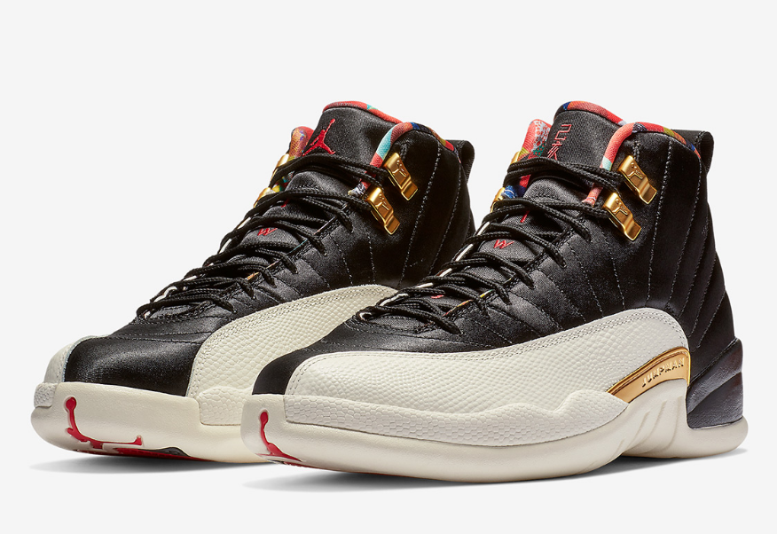 Nike Air Jordan 12 Rilis Spesial Chinese New Year