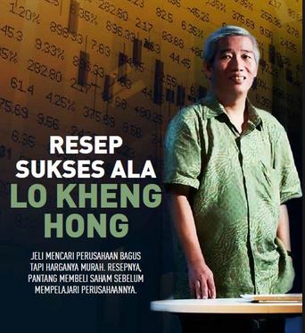 3 Tips Investasi Lo Kheng Hong