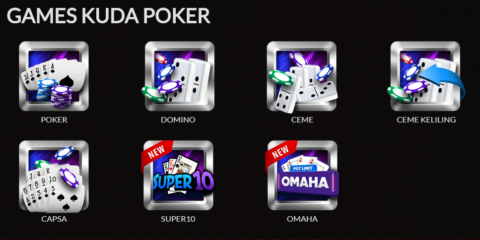 games kuda poker