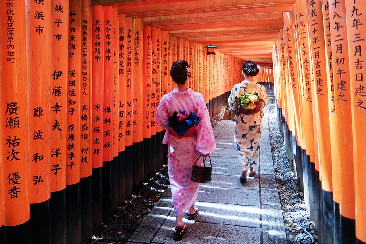 Wisata Fushimi Inari Shrine