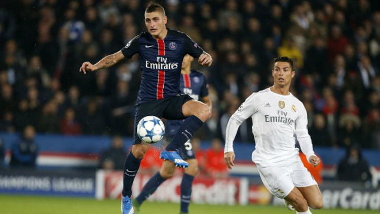 Marco Verratti Tahu Ronaldo Ingin ke PSG